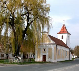 Milovice - kostel sv. Osvalda
