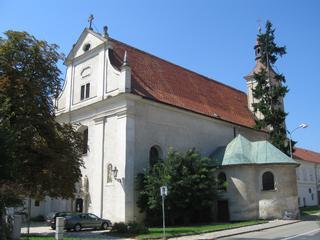 Mikulov - kostel sv. Jana Křtitele