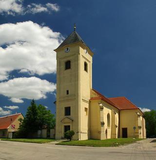 Strachotín – kostel sv. Oldřicha