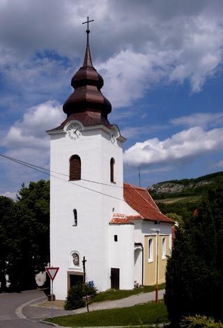 Bavory – kostel sv. Kateřiny