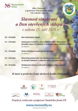 Slavnost vinobraní v Novosedlech