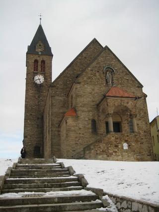 Zaječí - kostel sv. Jana Křtitele