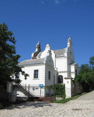 Mikulov - židovský hřbitov, obřadní síň