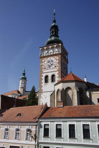 Mikulov - věž kostela sv. Václava