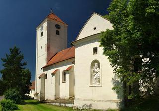 Perná – kostel sv. Mikuláše