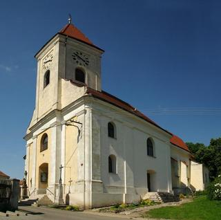 Dolní Dunajovice – kostel sv. Jiljí
