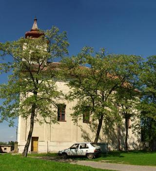 Brod nad Dyjí – kostel sv. Jana Nepomuckého